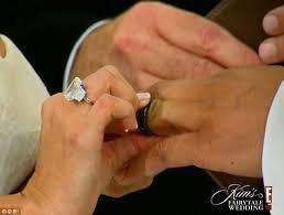 Kim K Wedding Ring by Kim Kardashian Wedding Tears Tantrums And Rows With Kris