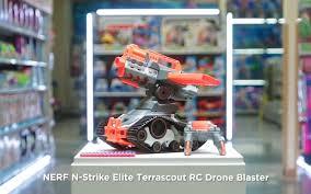 nerf remote control tank nerf n strike elite terrascout rc drone blaster yenra