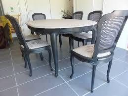 relooker une table de cuisine relooking chaises et table en merisier l atelier de nanouchka