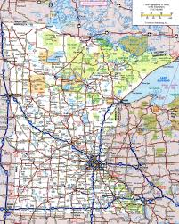 State Parks Usa Map by Large Detailed Roads And Highways Map Of Minnesota State With