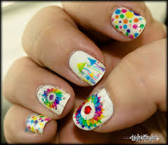 laser print nail art creating beautiful intricate colorful nail