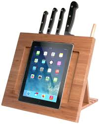 seven chef worthy ipad stands for your kitchen imore cta digital adjustable bamboo kitchen stand