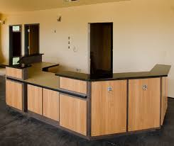 Commercial Reception Desk Front Desk Receptionist Designs Desk Custom Desk