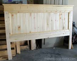 bed headboards diy diy farmhouse headboard how to the turquoise home