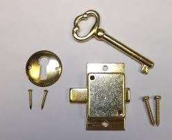 amazon com grandfather clock door lock u0026 key set new brass