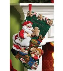 felt christmas kits bucilla 18 inch christmas felt applique kit