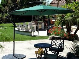 Patio Umbrella Wedge Offset Patio Umbrella Green 10 Quality Patio Umbrellas Market