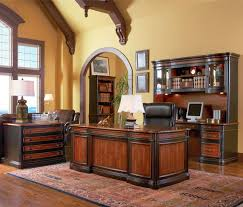 Black Wood Office Desk Office Elegant Home Office Decor Ideas With Oval Wooden Office