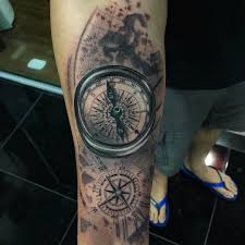 amazing artist tuzinho tattoo tuzinhotattoo awesome compasses