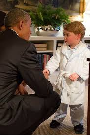 President Who Got Stuck In A Bathtub Barack Obama Makes Hilarious Quip About Meeting Prince George At