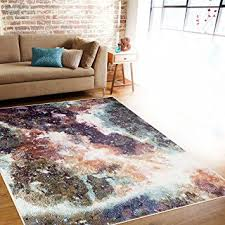 Soft Area Rug Rugshop Distressed Abstract Soft Area Rug 5 3 X 7 3