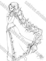 braid rapunzel sketch by sakiree on deviantart rapunzel