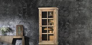 credenza prezzo vetrina alta in pino vecchio con anta in vetro e ripiani