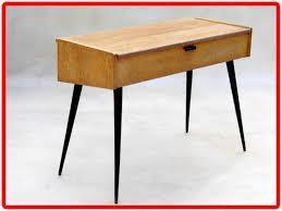 bureau vintage design bureau console deco vintage scandinave meubles et décoration