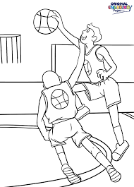 basketball u2013 coloring pages u2013 original coloring pages