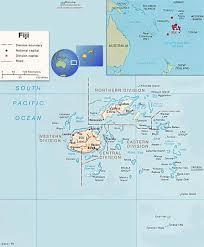 Map Of Fiji Fiji Water Charity