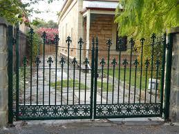 gate and fence white wrought iron fence wrought iron balcony