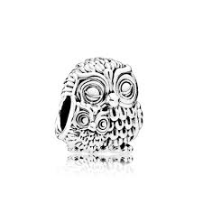 pandora charming owls charm 791966 greed jewellery