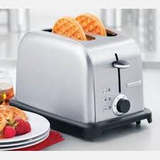 Stainless Toaster 2 Slice Gourmet Living 2 Slice Toaster Shopko