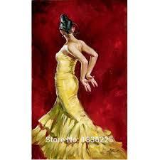 aliexpress com buy dancer flamenco spanish woman heat