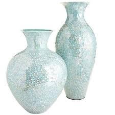 Mosiac Vase Aqua Mosaic Vases Everything Turquoise