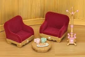 Living Room Furniture Set By Sylvanian Families  Living - Sylvanian families living room set