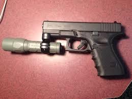 surefire light for glock 23 spare scope ring laying around 50 surefire flashlight one