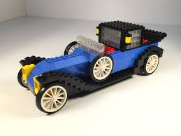 vintage renault lego 391 hobby set 1926 renault car from 1977 vintage review