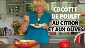 vivolta cuisine cocotte de poulet aux olives et au citron en cuisine avec