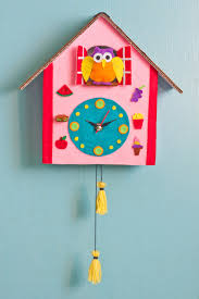 diy cuckoo clock craft great parent child activity http ift