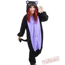 women u0026 men middle night spooky cat kigurumi onesies pajamas costumes