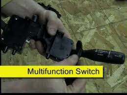 multifunction turn signal switch replacement 2002 jeep wrangler