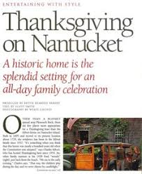 a nantucket thanksgiving vintage bon appetit thanksgiving