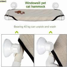 Window Sill Cat Bed Cat Window Hammock Pet Cat Window Perch Cozy Window Bed Stable