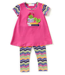 Bonnie Jean Learning Worm Tunic And Legging Set Peek A Bootique