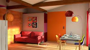 cuisine couleur orange gallery of decoration pour cuisine salon de jardin couleur