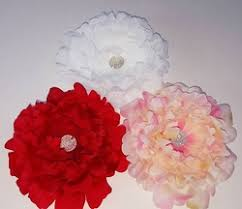 flower hair clip flower hair