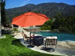 Obravia Treasure Garden Umbrella by 9 U0027 Auto Tilt Umbrella Latte Macchiato All Things Barbecue