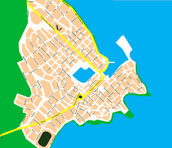 Map Of Crete Greece by City Map Of Agios Nikolaos Crete Tournet Greece