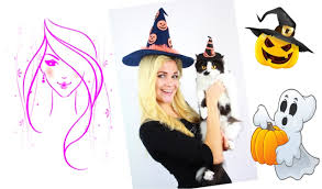 halloween witch crafts diy halloween how to make a witch hat diy crafts youtube