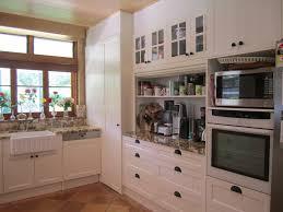 brisbane kitchen design samford traditional kitchen renovation appliance cupboard with roller door10 jpg