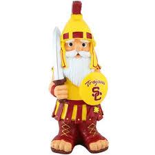 usc trojans team mascot gnome it it at my front