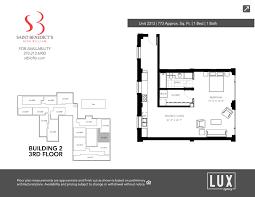 Finish Floor Plan Plans U0026 Pricing U2013 St Benedicts Lofts