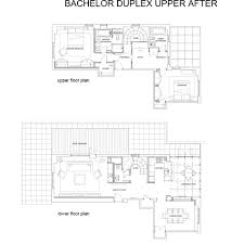 Duplex Plan Architecture Project Bachelor Duplex Studio St Architects