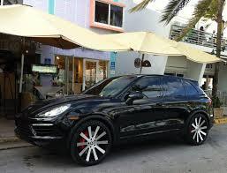 Porsche Cayenne With Rims - black porsche cayenne turbo with forgiato rims exotic cars on