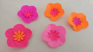 paper flower easy paper flowers diy diy inspired