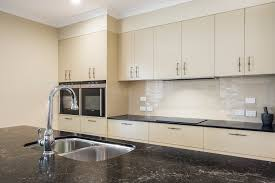 contemporary modern kitchen design brisbane with vanilla noir