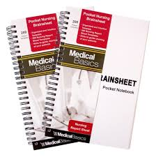 Nursing Report Sheet Template Free Amazon Com Pocket Report Sheet Notebook Brain Sheet