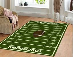 football decorations football field kids area rug discount offer up to 50 for decorations