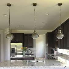 Lighting Kitchen Island Stair Chandelier Hanging Crystal Pendants Pendant Light For